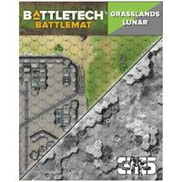 Battletech - Battle Mat - Grasslands / Lunar (Miniatures)