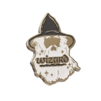 The Hobbit - Wizard Pin Badge (Badge Enamel)