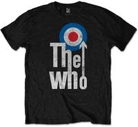 The Who - Elevated Target Men's T-Shirt - Black (Large) - Cover