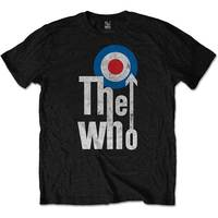 The Who - Elevated Target Men's T-Shirt - Black (X-Large) - Cover