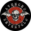 Avenged Sevenfold - Distressed Skull Back Patch