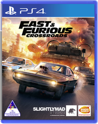 Fast & Furious Crossroads (PS4) - Cover