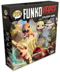 Funko Pop! Funkoverse Strategy Game - Jurassic Park Base Game (Board Game)