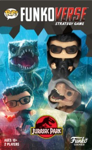 Funko Pop! Funkoverse Strategy Game - Jurassic Park Expandalone Game (Board Game) - Cover
