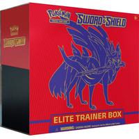 Pokémon TCG - Sword & Shield Elite Trainer Box - Zacian (Trading Card Game)