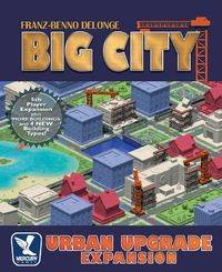 Big City: 20th Anniversary Jumbo Edition - Urban Upgrade Expansion (Board Game) - Cover