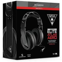 Turtle Beach - Elite Atlas Aero Wireless Stereo Gaming Headset - Black/Silver (PC)