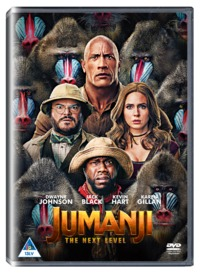 Jumanji - The Next Level (DVD) - Cover