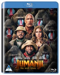 Jumanji - The Next Level (Blu-ray) - Cover
