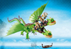 Playmobil - How to Train Your Dragon Ruffnut and Tuffnut