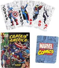 Marvel Comic Book Playing Cards - Cover