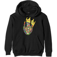 Notorious B.I.G. - Crown Men's Black Hoodie (Small) - Cover
