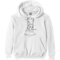 Billie Eilish - Party Favor Men's White Hoodie (X-Small) - Cover
