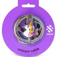 Swipe: 3-in-1 Cable - Unicorn PowerLead (Charging Cable)