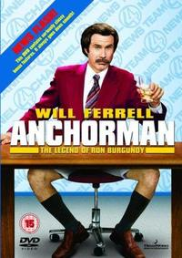 Anchorman: The Legend of Ron Burgundy (DVD) - Cover