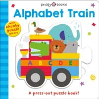 Alphabet Train (Press-Out & Play) - Roger Priddy (Board Book)