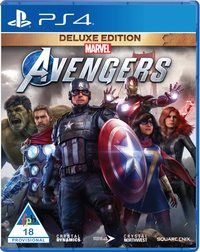 Marvel's Avengers - Deluxe Edition (PS4) - Cover