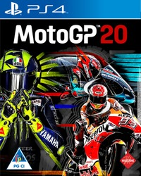 MotoGP™20 (PS4) - Cover