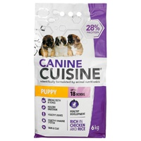 Canine Cuisine - Puppy Chicken & Rice (6kg) - Cover