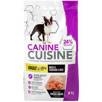 Canine Cuisine - Adult Small to Medium Chicken & Rice (6kg)