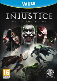 Injustice: Gods Among Us (Wii U) - Cover