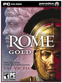 Europa Universalis - Rome Gold (PC) - Cover