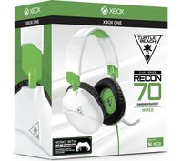 Turtle Beach - Recon 70X Wired Gaming Headset - White/Green (Xbox One) - Cover