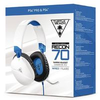 Turtle Beach - Recon 70P Wired Gaming Headset - White (PS4/PS4 Pro) - Cover