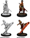 Dungeons & Dragons - Nolzur's Marvelous Unpainted Miniatures - Male Half-Elf Monk (Miniatures)