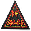 Def Leppard - Tri Logo Woven Patch Cover