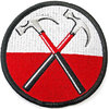 Pink Floyd - The Wall Hammers Circle Woven Patch