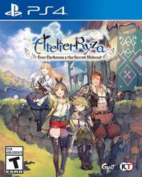 Atelier Ryza: Ever Darkness & The Secret Hideout (US Import PS4) - Cover