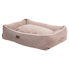 Rogz - Indoor 3D Pod Dog Bed - Natural/Sand (Large)