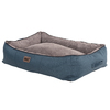 Rogz - Indoor 3D Pod Dog Bed - Petrol/Grey (Small)