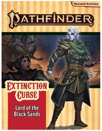 Extinction Curse 5 Of 6: Lord Of The Black Sands - Mikko Kallio (Role Playing Game) - Cover