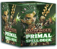 Pathfinder (Second Edition) - Spell Cards - Primal (Role Playing Game) - Cover