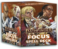 Pathfinder (Second Edition) - Spell Cards - Focus (Role Playing Game) - Cover
