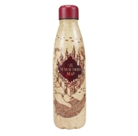 Harry Potter - Marauders Map Metal  Water Bottle - Cover