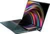 ASUS - ZenBook Pro Duo UX581GV i7-9750H 16GB OB RAM 512GB SSD NVIDIA GF RTX 2060 6GB WIN 10 Pro 15.6 inch UHD Glare Touch Notebook - Blue