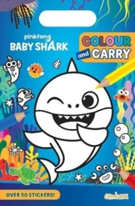 Baby Shark Colour & Carry Pad (Paperback) - Cover