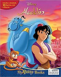 Aladdin: My Busy Books - Disney (Board Book) - Cover