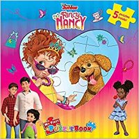 Disney Fancy Nancy: My First Puzzle Book - Phidal Publishing Inc. (Board Book) - Cover