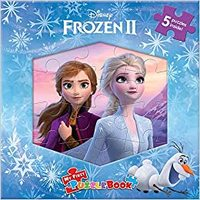Disney Frozen II: My First Puzzle Book - Phidal Publishing Inc. (Board Book) - Cover