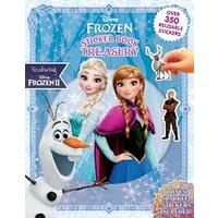 Disney Frozen II: Sticker Book Treasury (Paperback)