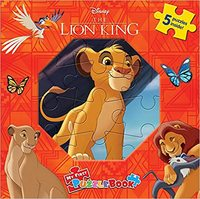 Disney Lion King: My First Puzzle Book - Phidal Publishing Inc. (Hardback) - Cover