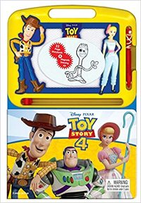 Disney Toy Story 4: Learning Series - Phidal Publishing Inc. (Board Book) - Cover