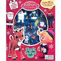 Rudolph: Stuck On Stories - Phidal Publishing Inc. (Board Book)