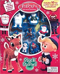 Rudolph: Stuck On Stories - Phidal Publishing Inc. (Board Book) - Cover