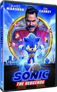Sonic the Hedgehog (DVD) - Cover