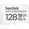 Sandisk High Endurance 128GB Micro SDHC Card for Dashcams & Home Monitoring